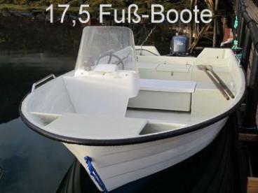 offenes GFK Angelboot