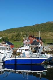 Angelboot und Bootssteg in Maribell