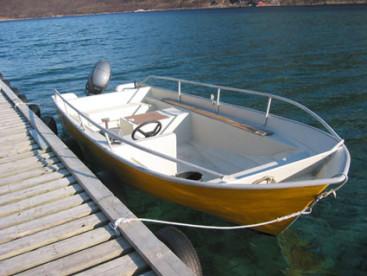 18 Fuß Angelboot mit 30 PS und Kartenplotter