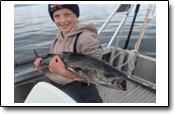 Familienurlaub in Norwegen: Herr Duwe fischte in Straumfjorden