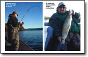 krummeRuten auch beim Binnenfischen in Norwegen