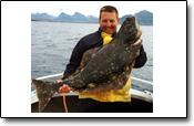 glücklicher Angler Weide mit Heilbtterlebnis in Kvarøy