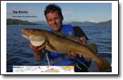 leichtes Fischen auf dicke Fische in Kvernes