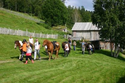 neben Angeln ist auch Reiten in Norwegen möglich