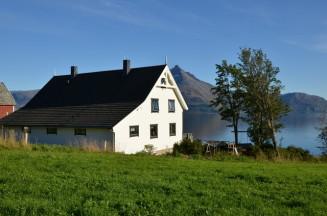 großes und freistehendes Ferienhaus für Norwegenangler