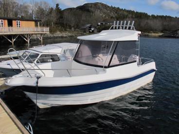 Balsnes mit top Angelboot