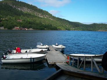 die Angelboote in Eiset