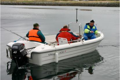 GFK Angelboot in Fagervika