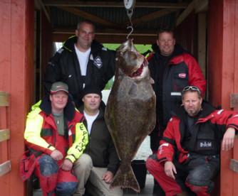 toller Fangerfolg in Hindrum Fjordsenter