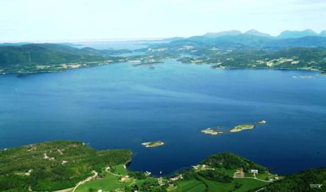 herrliche Natur in Norwegen