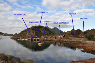 Anglerunterkünfte auf den Lofoten