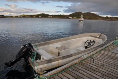 Angelboot Lofotbrygga