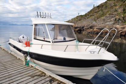 Dolmøy Kabinenboot auf den Lofoten