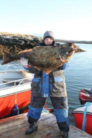ein toller Fang in Smøla Feriesenter