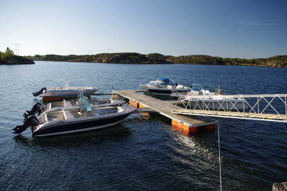 Angelboote in Vagen Gård
