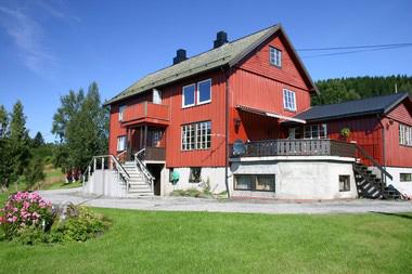 ein Einzelhaus in Vollen mit herrlichem Fjordblick