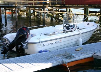 GFK Uttern Angelboot