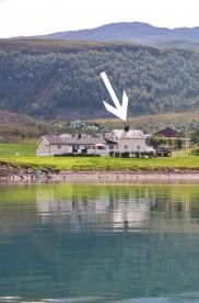 Ferienhaus in Nordnorwegen mit Fjordblick: Korsfjorden
