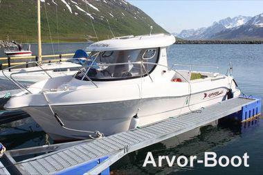 Kabinenboot Arvor
