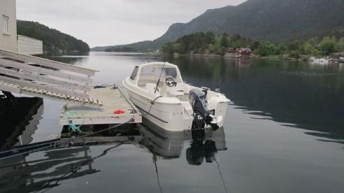 GFK Angelboot in Norwegen