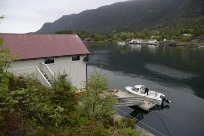 herrlicher Fjordblick in Norwegen