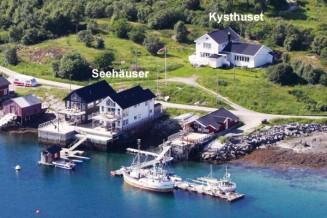drei fantastische Ferienhäuser in Dønna