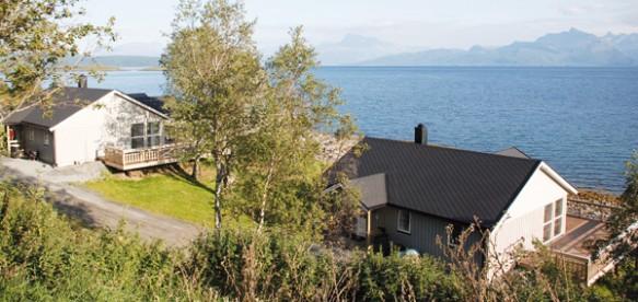 traumhafte Aussicht in Liland Sjøhus