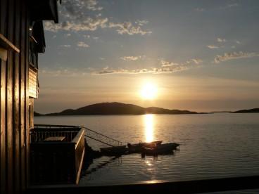 zum Träumen: Sonnenuntergang in Norwegen