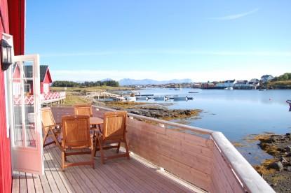 Fjordblick der Extraklasse in Gardsøya