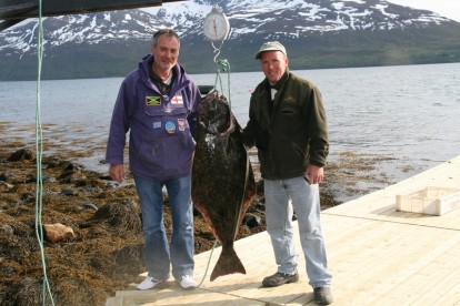 auch im Fjordbereich werden Heilbutte gefangen