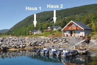 traumhafte Ferienhäuser direkt am Meer