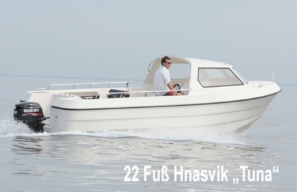 Rørvik Rorbuer rüstet auf: neues 22 Fuß Boot