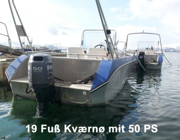 19 Fuss Kværnø mit 50 PS