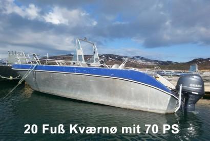 20 Fuss Kværnø mit 70 PS
