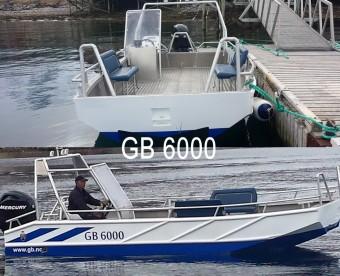 GB 6000 mit 20 Fuß und 100 PS