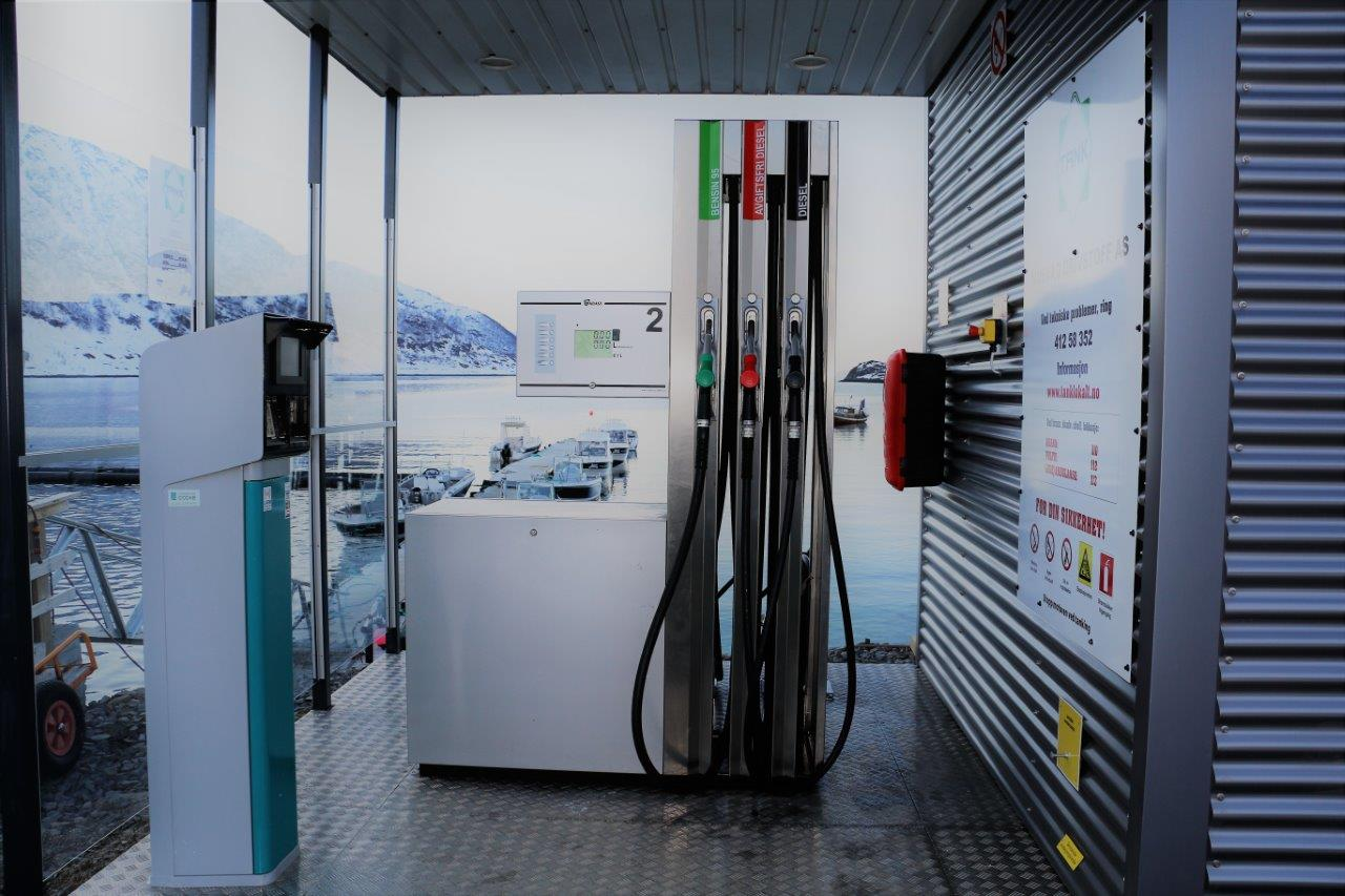 Loppa Havfiske Fuel Station
