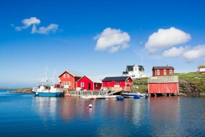 Husøya in Vega Kystferie