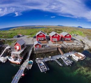 drei fantastische Seehäuser auf Vega