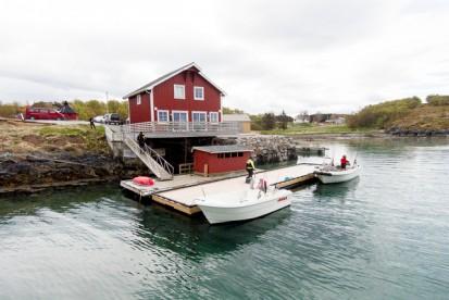 Blomsø Rorbuer Übersicht