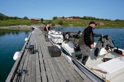 Bootssteg Bogøy Feriehus