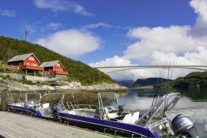 Helgeland vom Bootssteg