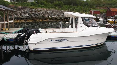 GFK Quicksilver in Skrolsvik Sjøfiske