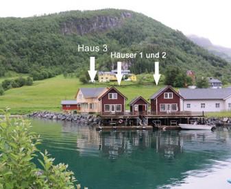 Ferienhäuser 1-3 in Aldersund Bryyge