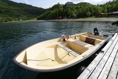 "Angelboot ""Rana"" 17,5 Fuß mit 28 PS"