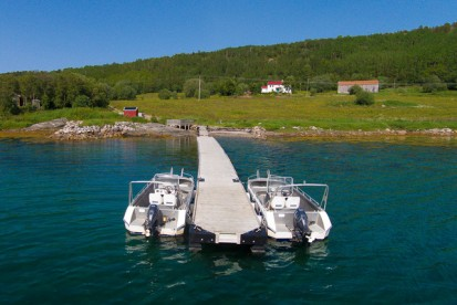 Bootssteg Ytre Skotsfjord