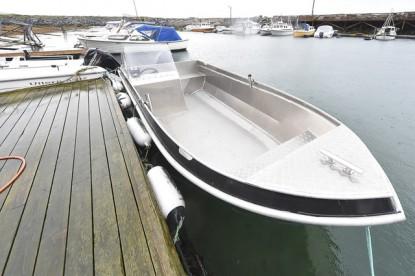"""Angelboot """"Alu-Robust"""" mit 18 Fuß/40 PS Viertakt/Echolot/Kartenplotter"""