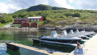 Traumhäuser für Angler: Solvika Sjøhus