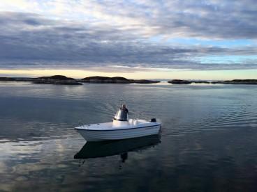 "Frøya Panorama Angelboot ""Sandstrøm"""