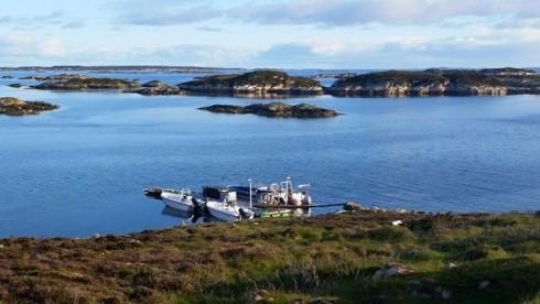 Bootssteg Frøya Panorama