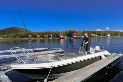 Ankeret Brygge Boot Kværnø 600 mit 20 Fuß